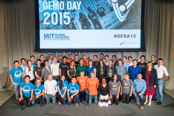 MIT Demo Day 2015 - Boston
